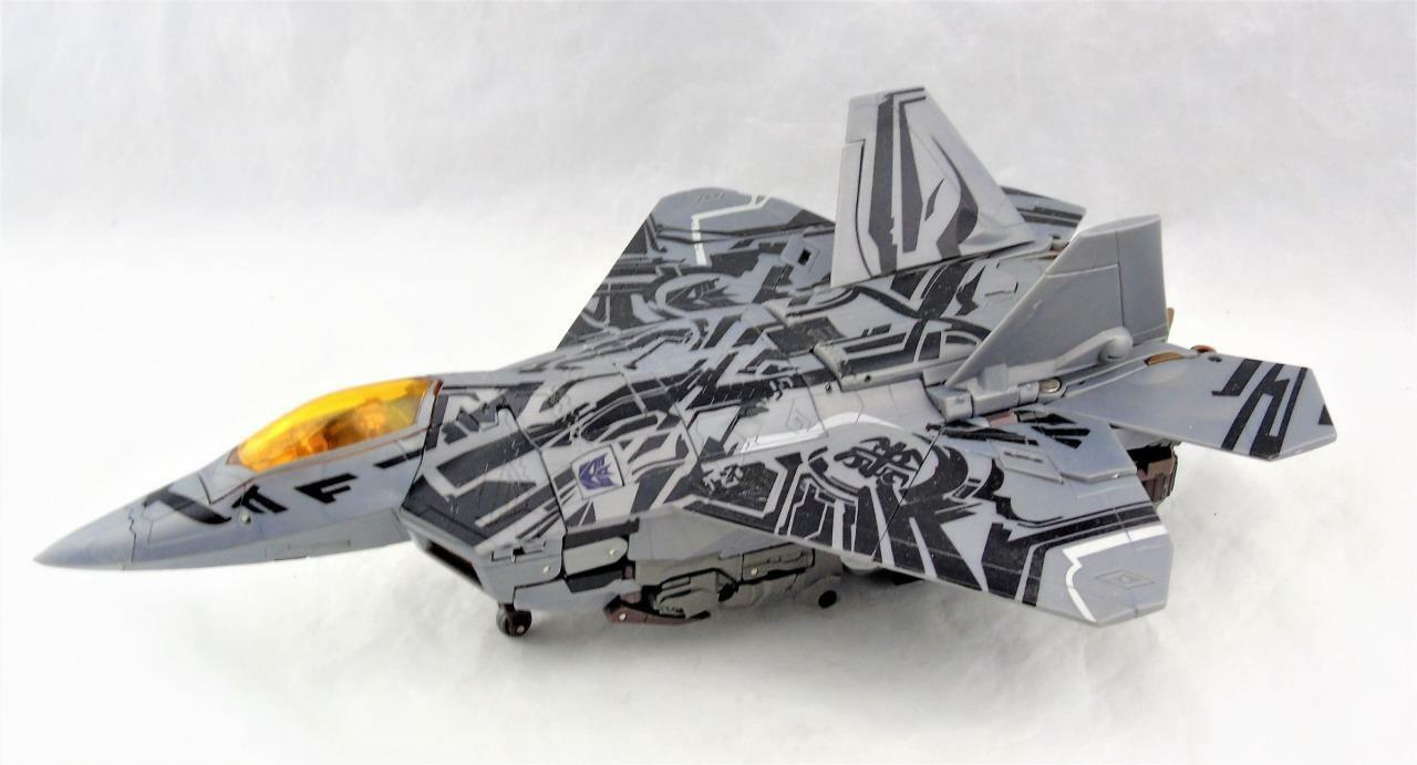 Transformers Hunt For The Decepticons Leader Class Class Class Starscream Complete ddf6a3
