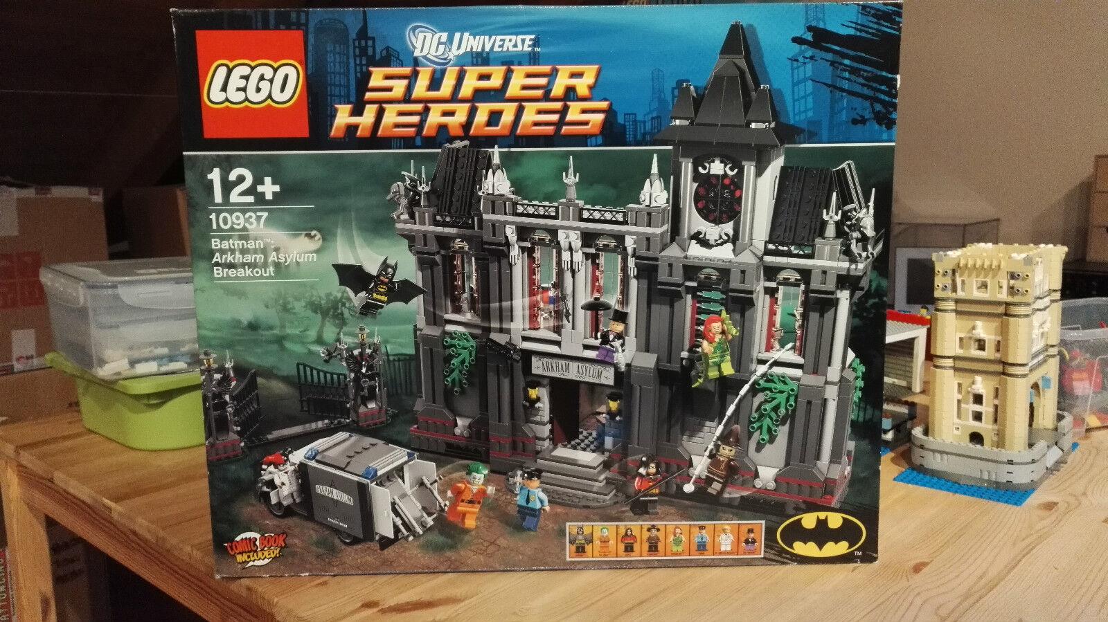 LEGO 10937 ARKHAM ASYLUM BREAKOUT-SUPERHEROES-batman-DC UNIVERSE-nuovo