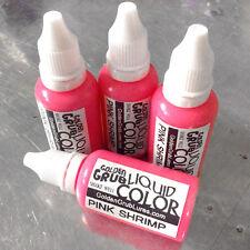 NEW 1 OZ. PINK SHRIMP Liquid Color Fishing Plastic Soft Bait Plastisol Making