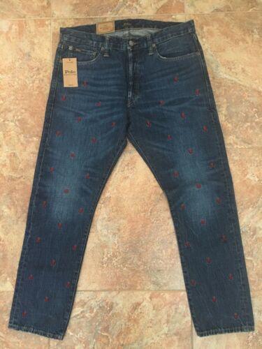 32 Borduur Slim 33 Lauren Jeans X Polo Heren broek Ralph Sullivan Skelet rBoxedC