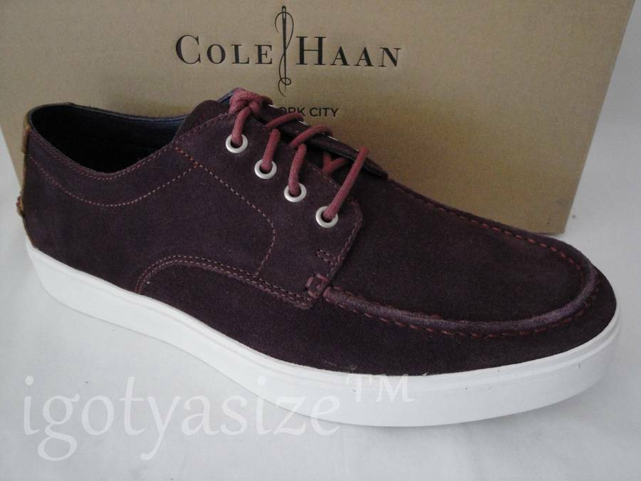 COLE (SEEDLING HAAN MEN'S BERGEN (SEEDLING COLE SUEDE) LACE-UP MOC OXFORD 5c4bd7