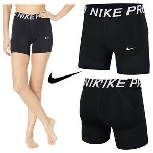 Nike-Womens-Shorts-Ladies-Pro-5-034-Training-Short-Inner-Tights-Size-XS-S-M-L-XL