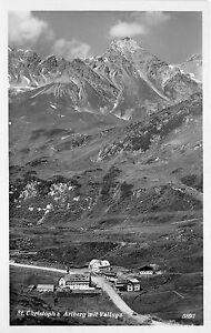 BG30095-st-christoph-a-arlberg-mit-valluga-austria-CPSM-14x9cm