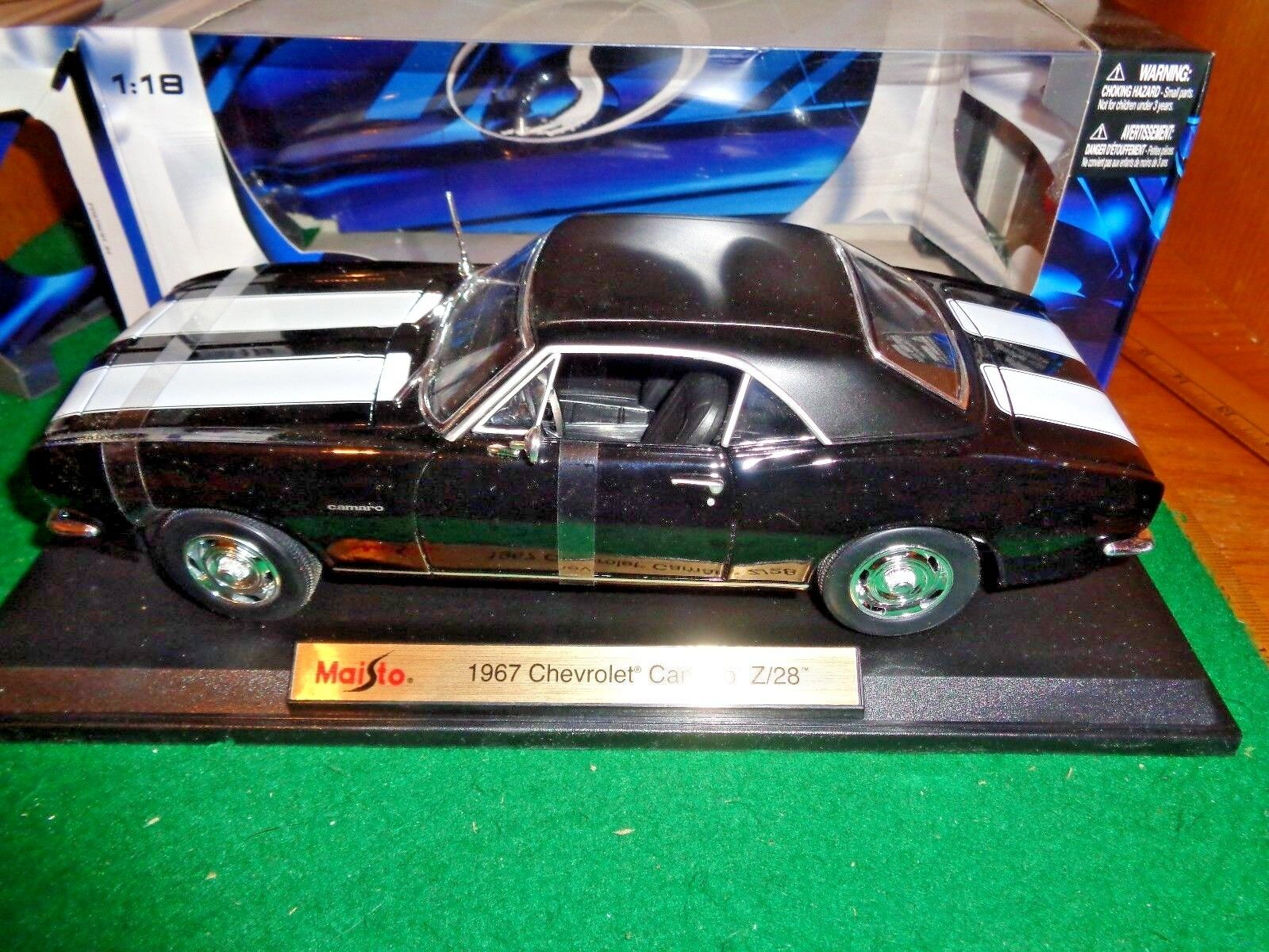 Maisto Special Edition 1967 Chevrolet Camaro Z 28 in 1 18 scale made in Thailand