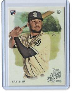 2019 Topps Allen & Ginter #183 Fernando Tatis Jr. Rookie card RC San Diego Padre