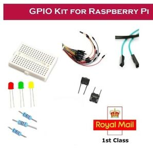 gpio traffic light kit led s resistors switch breadboard for
