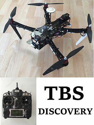 Creativo Tbs Discovery Rc Quadcopter Dji Naza V2 Fpv Turnigy 9x Trasmettitore Frsky Drone-mostra Il Titolo Originale Lustro