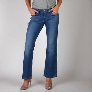 Levi-039-s-529-Curvy-Bootcut-Mittelblau-Damen-Jeans-31-32
