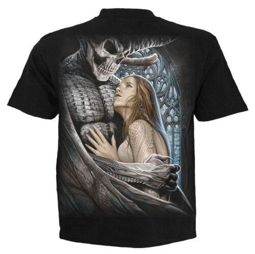 SPIRAL Direct DEVIL bellezza T SHIRT TATTOO //// DEMONE//l/' amore//Goth//DEVIL//Tee//Donna