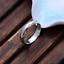 Anello-Fede-Fedina-Fidanzamento-Argento-925-Uomo-Donna-Incisione-Nome-Data miniatura 3