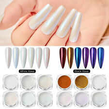 Pearl Nail Mirror Powder Glitter Dust Nail Art Shiny Chrome Pigment DIY Decors