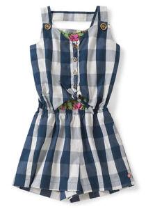 b1b92bbf6be Matilda Jane Country Roads Romper Girls Size 12 NWT In Bag Blue 4th ...