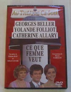 DVD-CE-QUE-FEMME-VEUT-Georges-BELLER-Yolande-FOLLIOT-NEUF