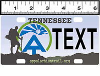 Personalized Custom Bicycle State License Plate-tennessee Appalachian Trail