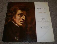 Chopin Etudes Allegro De Concert Claudio Arrau~RARE UK Import Classical~FAST!!!