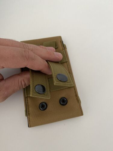 Outdoor Tactique Pour Téléphone Portable Ceinture Sac Armée Randonnée Pêche Chasse Sac Sable