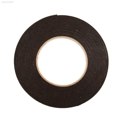 7D9C Double Sided Car Auto Trim Number Plates Foam Sticky Tape Adhesive 6mmx10m