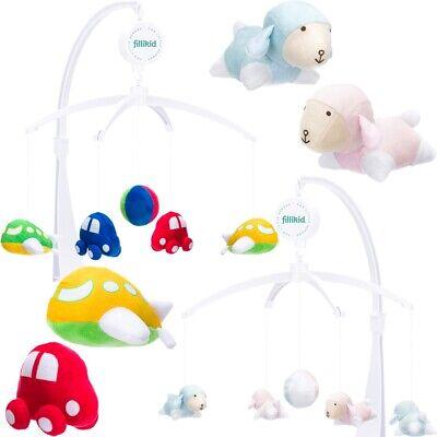 35 Lieder Musikmobile Musik Spieluhr Einschlafhilfe Musikuhr Babybett Spielzeug