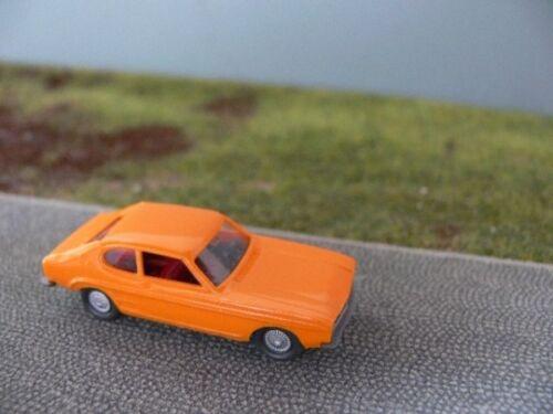 1//87 Wiking Ford Capri gelborange 202 2 A