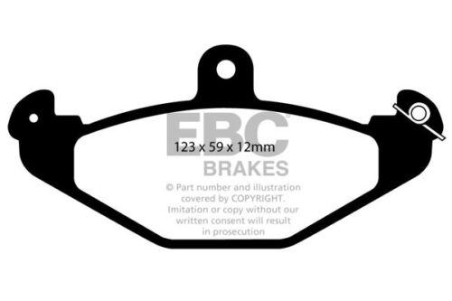 96 /> 01 EBC Ultimax Rear Brake Pads for Lotus Elise 1.8