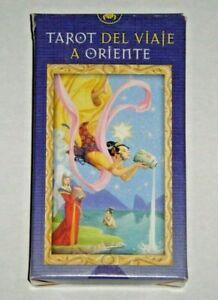Tarot-of-Journey-to-the-Orient-Viaje-A-Oriente-Rare-Mint-OOP-w-Tarot-Bag