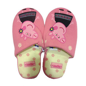 PEPPA PIG Hausschuhe weich rosa von Mädchen verschiedene Größen