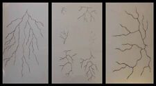 Airbrush Schablonen Set Blitze 1