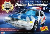Lindberg Crown Victoria Police Cruiser 1/25 Snap Model Car Kit 130
