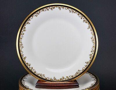 """Lenox Eclipse Set Of Twelve 8 1/8"""" Wide Salad Plate Plates Decorative Arts Antiques Amazing Condition!"""
