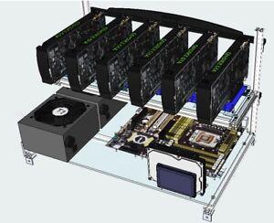 Details about Miner OS Linux USB easy mining rig setup works for AMD NVidia  multi GPU