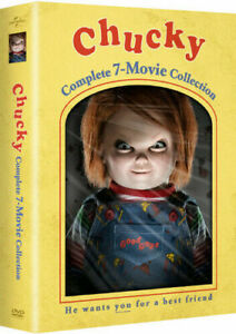 Chucky Complete All 7-Movie Collection DVD Box Set Horror Scary Doll Dolls Film