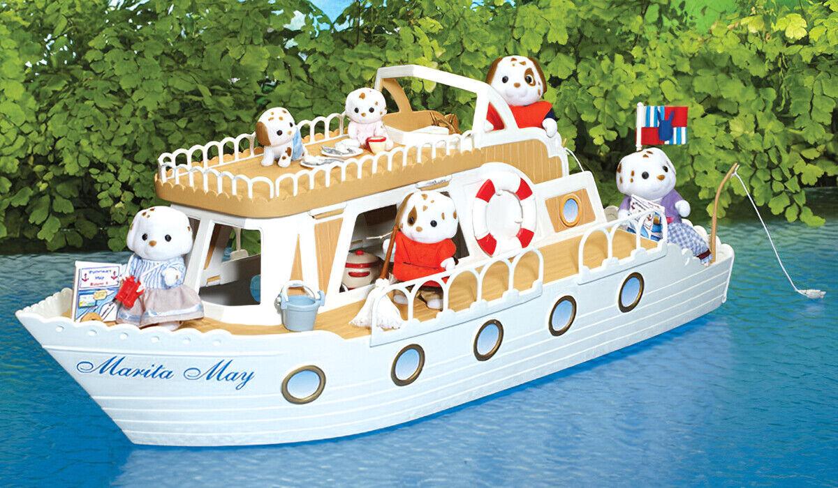 Sylvanian Families Calico Critters barco de recreo