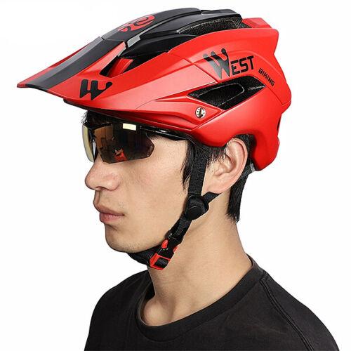 MTB Road Bike Cycling Helmet Mountain Outdoor Sport Bicycle Integrally Helmets