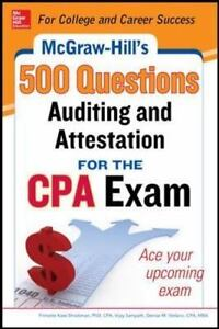 Image Is Loading McGraw Hill Education 500 Auditing And Attestation Questions