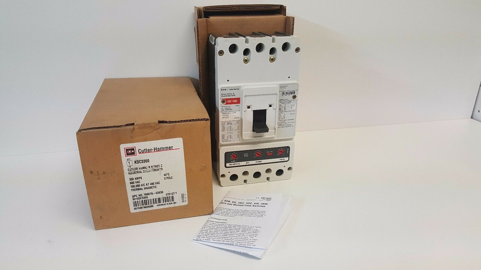 Eaton New Surplus KG3350W Cutler-Hammer KG3350