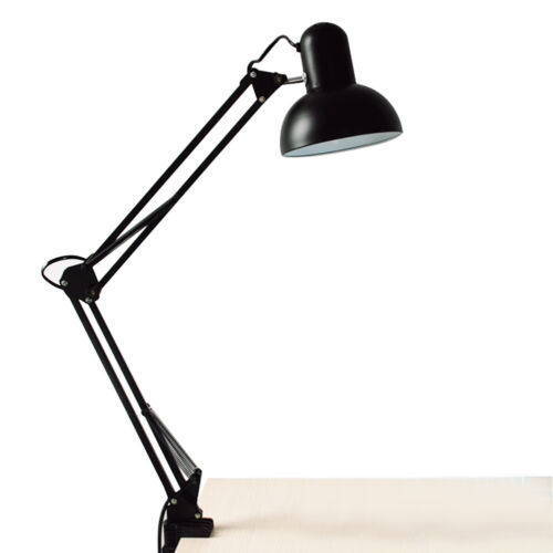 Adjustable Large Swing Arm Drafting Office Studio Clamp Table Desk Lamp Light US