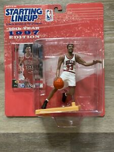 1997 Scottie Pippen Chicago Bulls Hasbro Starting Lineup Action Figure SLU