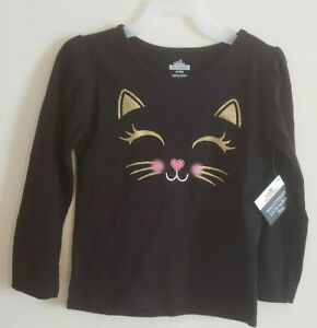 Cat /& Jack Toddler Long Sleeve Rabbit in Hat Button Down Shirt NWT 3T