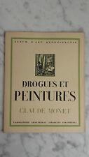 Album D'art - Drogues Et Peintures - N°10 - Claude Monet