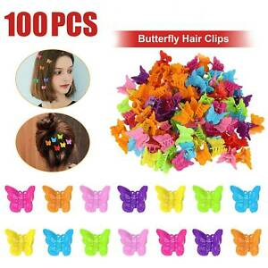 100pack-Butterfly-Hair-Clips-Mini-Hairpin-for-Kids-Women-Girls-Cartoon-Claw-Clip