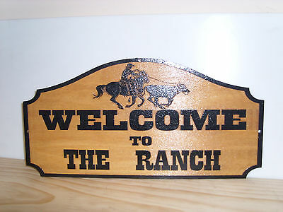 Personalized Welcome to ... Wooden Sign, Wood, Engraved, Custom made, gift,