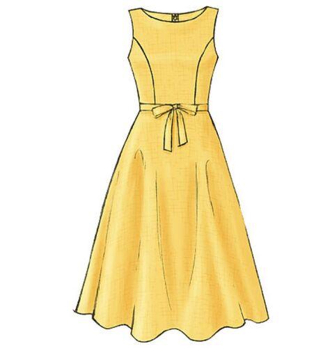 From UK Sewing Pattern  Dress  8-14 #4443