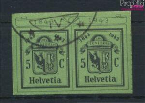 Schweiz-423-kompl-Ausgabe-gestempelt-1943-Briefmarkenausstellung-9045592