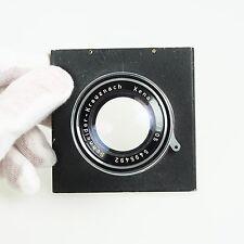 = Schneider Kreuznach Xenar 105mm f3.5 Exakta Mount Bellows Lens with Board