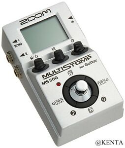 new zoom ms 50g multi stomp multi effects guitar pedal from japan f s ebay. Black Bedroom Furniture Sets. Home Design Ideas