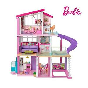 Barbie Dream Villa Dreamhouse Maison de poupée Mattel avec 3 étages et neuf