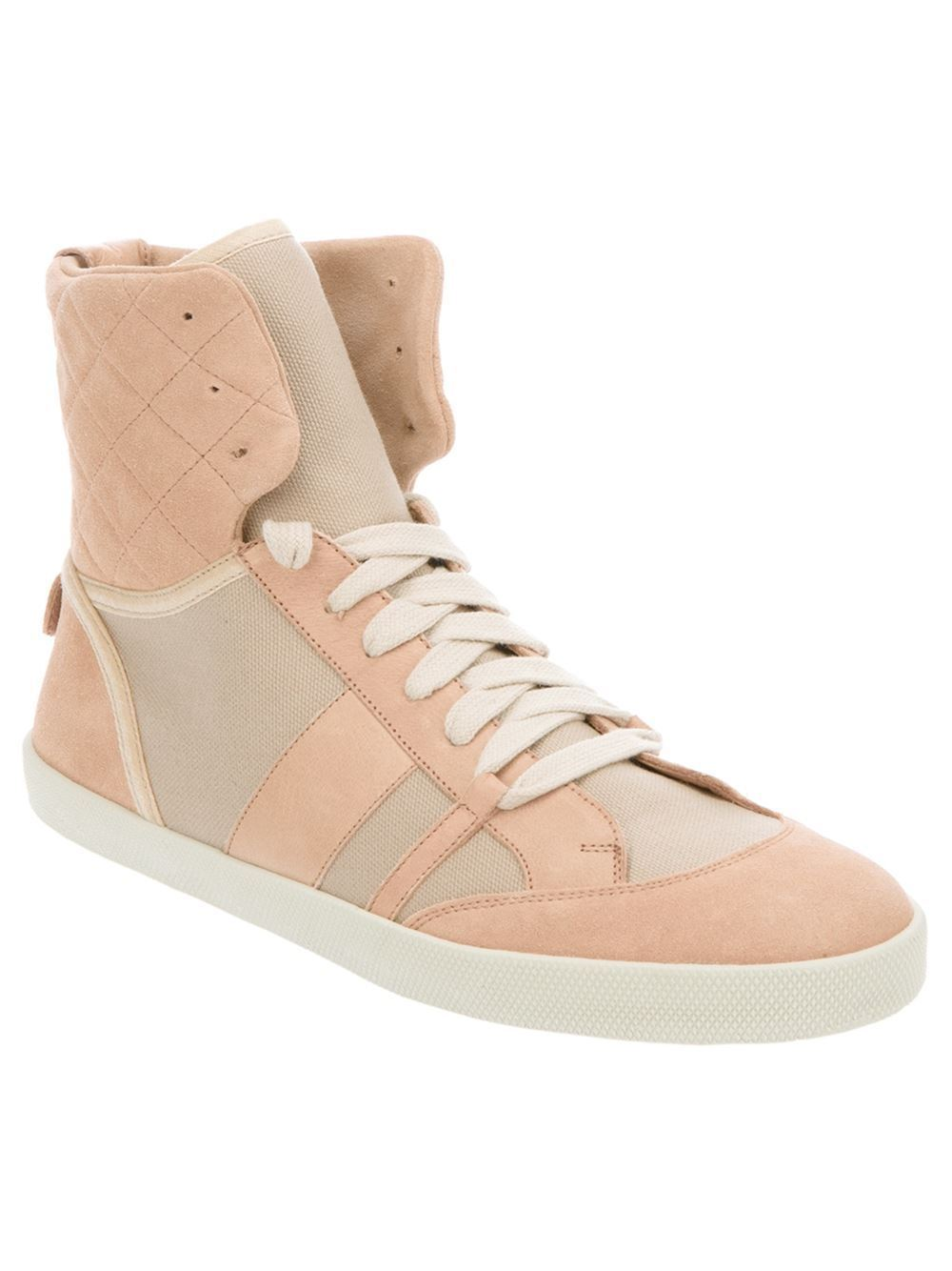NIB DONNE CHLOE SUEDE CORAL  HI -TOP scarpe da ginnastica EU 41 US 11 100% AUTHENTIC  595  outlet online
