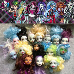 5Pcs-lot-Random-Send-Girls-Gift-Ugly-Toy-Doll-Accessories-Head-for-Monster-High