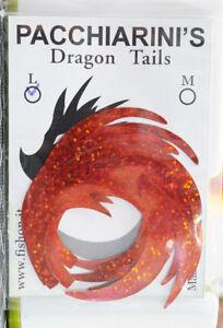 Paolo Pacchiarini´s Dragon Tails XL HOLO RED 4 Stück Dragon Tails XL holo red