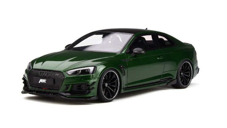 1 18 GT Spirit 1 18 AUDI RS5-R ABT Die Cast Model Green